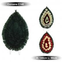 Coroana funerara C140