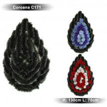 Coroana funerara C171