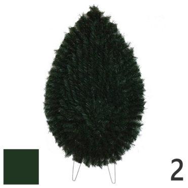 Coroana funerara artificiala plastic nr.2