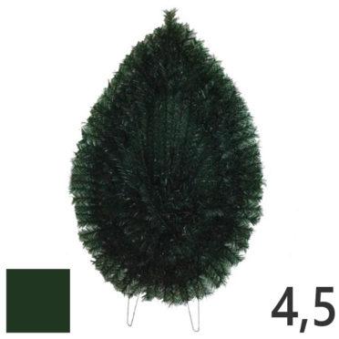 Coroana funerara artificiala plastic nr.4,5