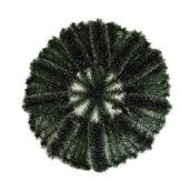 Coroana funerara rotunda pin