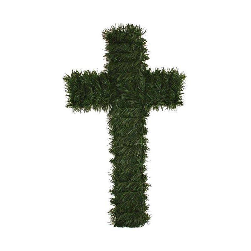 Cruce funerara artificiala plastic C201