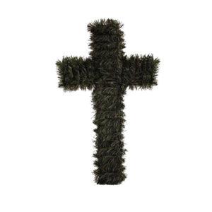 Cruce funerara artificiala plastic C211