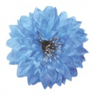 Dalia saten albastru