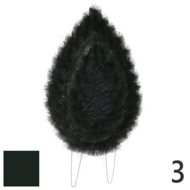 Coroana funerara pin nr.3