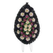 Coroana funerara cu flori nr.3 model 1