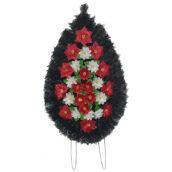 Coroana funerara cu flori nr.3 model 4