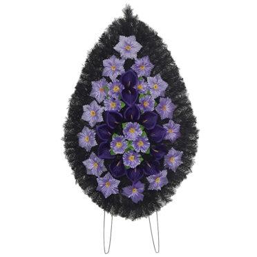 Coroana funerara cu flori nr.4 model 1