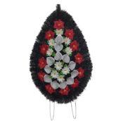 Coroana funerara cu flori nr.4 model 3