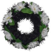Coroana funerara rotunda cu flori nr.0 model 10