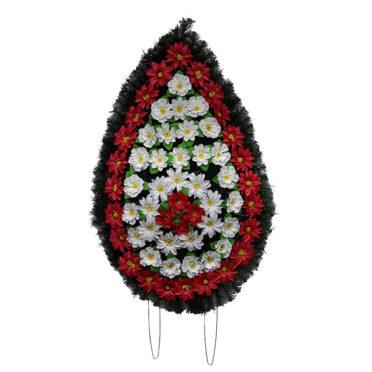 Coroana funerara cu flori nr.4,5 model 4