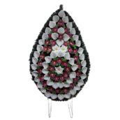 Coroana funerara cu flori nr.5 model 3