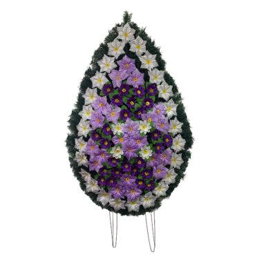 Coroana funerara cu flori nr.5 model 5
