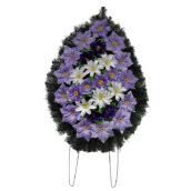 Coroana funerara cu flori nr.2 model 2